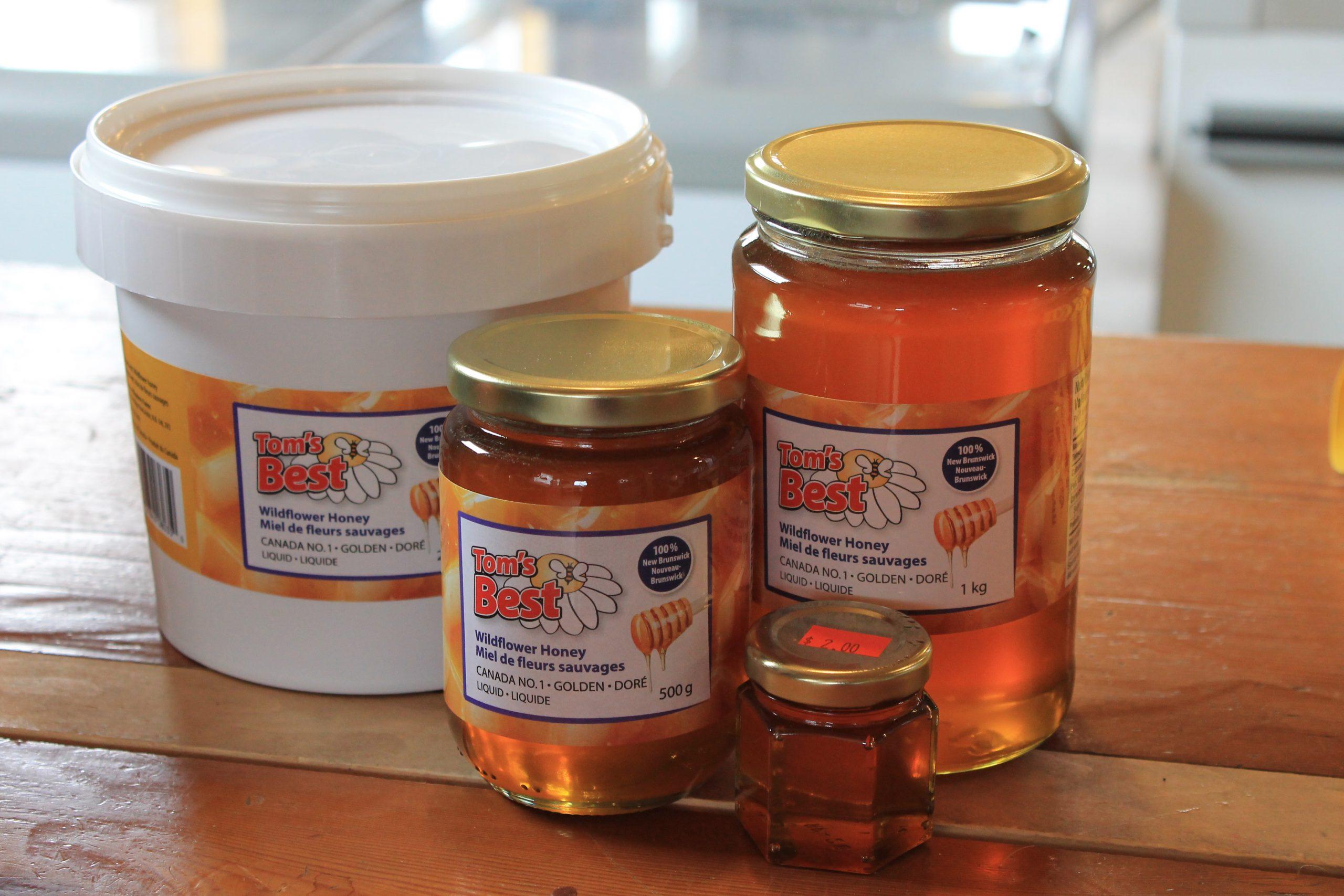 Trueman Blueberry Farms Homemade Honey